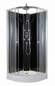 Cabine De Douche Hydromassante : cabine de douche hydromassante tahaa 1 4 rond 85cm l ~ Dailycaller-alerts.com Idées de Décoration