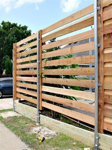 backyard   horizontal fence  sugarplum