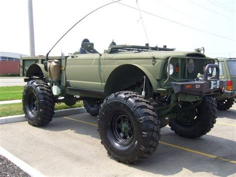 kaiser jeep lifted custom m715 jeep kaiser m715 m725 pinterest