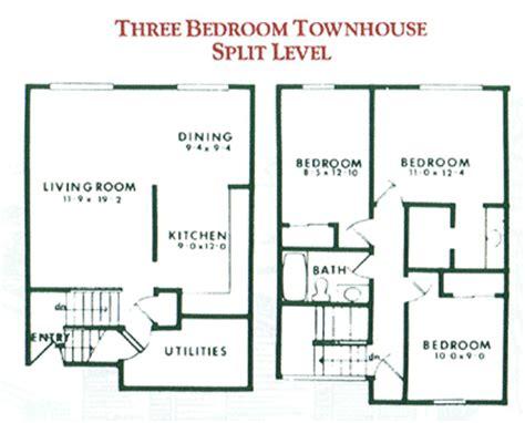 100 3 bedroom townhouse floor plans 3 bedroom 3 bedroom townhouse for rent in penfield ny