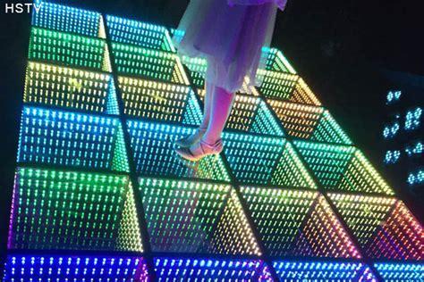 LED Infinite 3D Dance Floor   OptoKingdom