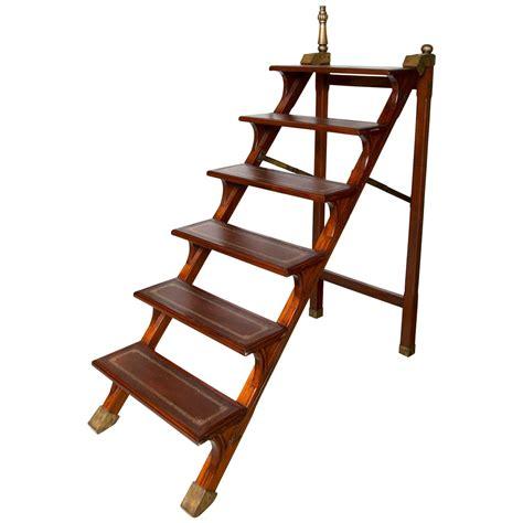 library folding steps ladder at 1stdibs