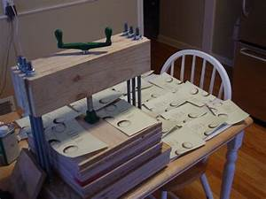 build a letterpress use it to print things 9 steps With diy letter press