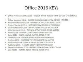 Professional Product Key Microsoft Office 2016