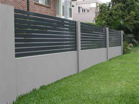 wall fence pictures modular fencing fencescape fencing australia s 1 fence builders