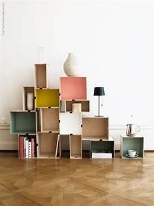 Ikea Kisten Regal : diy regal aus pr nt kisten von ikea diy home furniture ~ Frokenaadalensverden.com Haus und Dekorationen