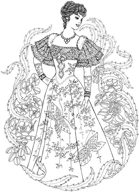 printable fashion coloring pages  adults coloring home