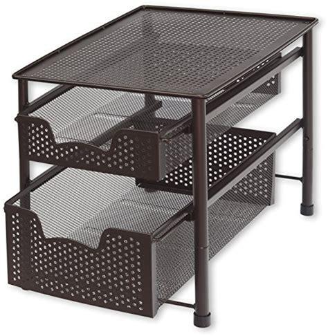sliding basket drawers stackable 2 tier sliding drawer marshmallowchef