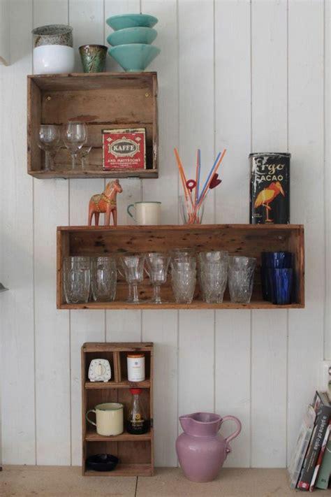 etagere de rangement cuisine meubles palettes en bois diy en 99 idées créatives