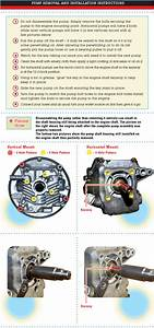 Pressure Washer Pump Removal And Installation Instructions