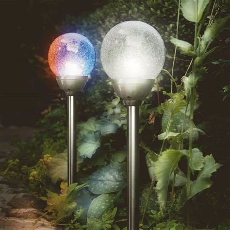 gardman cole bright solar orb stainless steel light