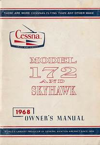 1968 Cessna 172 Pdf Of A Pilot Owners Manual