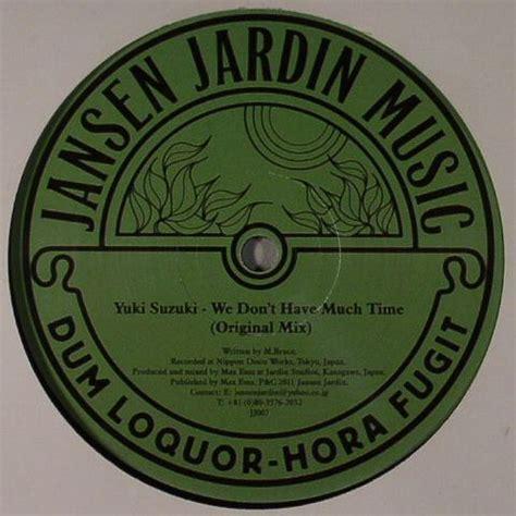 Yuki Suzuki by Yuki Suzuki We Don T Much Time Vinyl At Juno Records