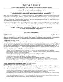 senior management resume writing tips senior operating and finance executive resume