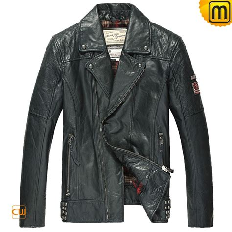 motorcycle jackets for men quilted leather motorcycle jacket for men cw850211
