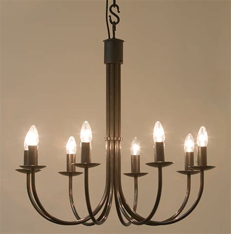 hartcliff 8 light 700mm wrought iron chandelier