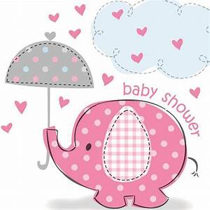 Umbrella clipart baby elephant - Pencil and in color