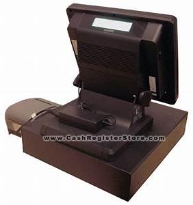 Casio QT-6600 Cash Register Touch Screen