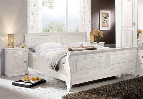 Massivholz Doppelbett Bett Holzbett Nachtisch Kiefer