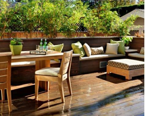 boden balkon bambus balkon sichtschutz gestaltung ideen im feng shui stil