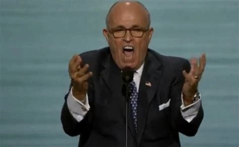 Rudy Giuliani tries to speak like Donald Trump, disturbingly.