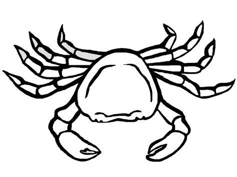 Sebastian Crab Coloring Pages