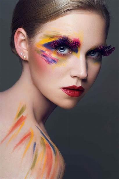 Makeup Photoshoot Creative Colourful Colorful Looks Inspo