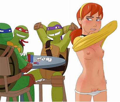 Ninja Poker Turtles Strip Mutant Teenage Freako