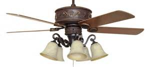 Ceiling Fan 44 Inch by Cc Kvwst Lk37a Western Star Lighted Ceiling Fan With