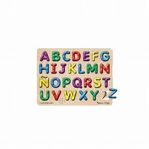 melissa doug spanish alphabet sound puzzle puzzles With melissa and doug replacement letters