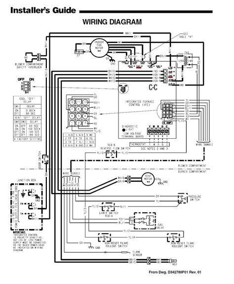 trane air conditioning wiring diagram schematics and