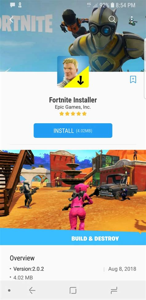 fortnite  android apk   device
