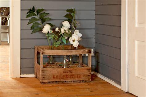decoration caisse en bois caisse en bois des id 233 es pour la recycler journal des femmes