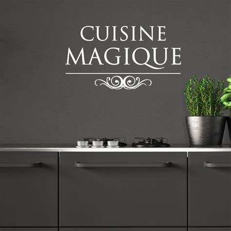 sticker citation cuisine magique stickers cuisine textes