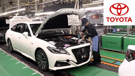 toyota motomachi assembly plant youtube