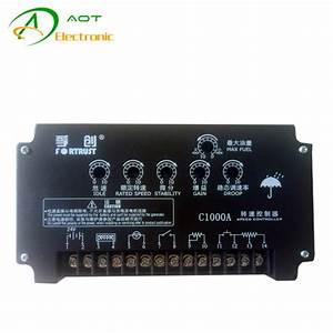 Fortrust Speed Controller C1000a Generator Speed Governor
