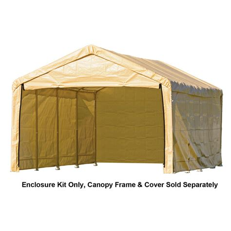 Home Depot Shelterlogic Sheds by Shop Shelterlogic Polyethylene Storage Shed Enclosure