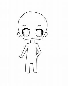 chibi template by star0127 on deviantart With chibi body template