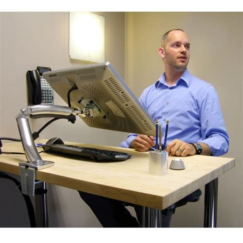 Ergotron Mx Desk Mount Lcd Arm by Ergotron Mx Desk Mount Lcd Monitor Arm 45 155 W 01 Bnib