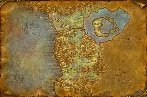 sepulcher silverpine forest map id  wotlk