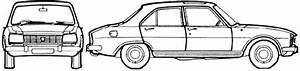 1977 Peugeot 504 Gl Sedan Blueprints Free