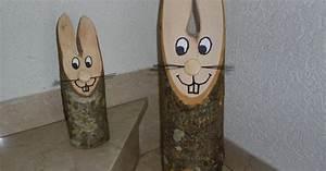 Osterhasen Aus Birkenholz : baumstamm osterhase bauanleitung zum selber bauen spielzeug holz pinterest baumst mme ~ Orissabook.com Haus und Dekorationen