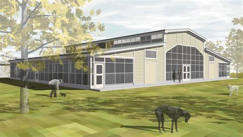 animal shelter addition renovation quackenbush