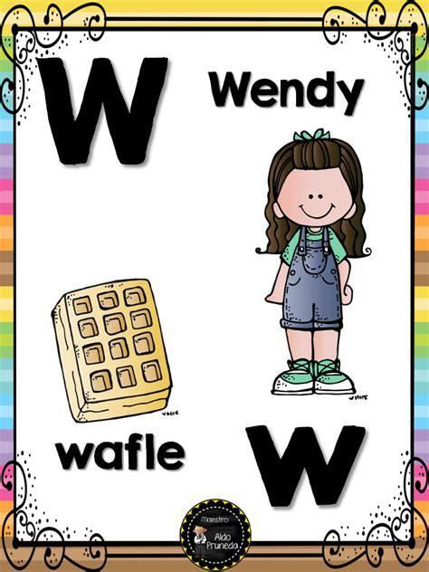 abecedario nombres propios 27 imagenes educativas