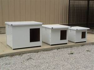 Superior options plus insulated dog house with aluminum for Aluminum dog house