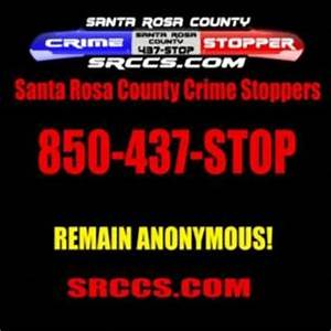 Contact Crime Stoppers | Santa Rosa County Sheriff's Office