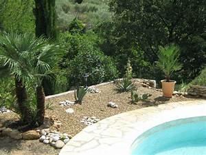 creation et amenagement d39espaces verts dans le var 83 With exceptional amenagement jardin autour piscine 5 une cascade dans votre piscine