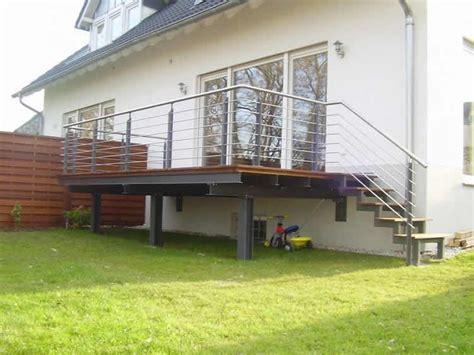 Terrasse Treppe Stahl by Terrasse Treppe Stahl Wohn Design