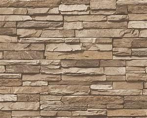 Tapete Steinoptik 3d : dekora natur 6 vlies tapete steinmauer beige braun 95833 2 euro pro m ebay ~ Frokenaadalensverden.com Haus und Dekorationen