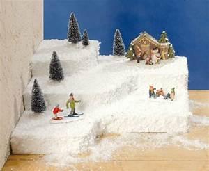 Schneelandschaft Selber Basteln : lichth user styropor podeste mit iris glanzschnee weihnachtslandschaft weihnachtslandschaft ~ A.2002-acura-tl-radio.info Haus und Dekorationen